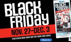Sears黑色星期五网购开卖