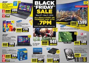 Canada Computer 黑色星期五东部时间今晚7点开始店内开卖