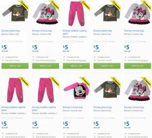 30款Disney婴幼儿服装特卖