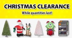 Walmart圣诞相关商品2.5折清仓,快点抢吧!