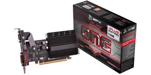 XFX Radeon HD One 5450 650MHZ 1GB 800MHZ GDDR3 DVI HDMI VGA PCI-E Video Card独立显卡