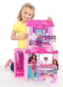 芭比娃娃组合休闲屋Mattel Barbie Glam Vacation House(不含芭比娃娃)