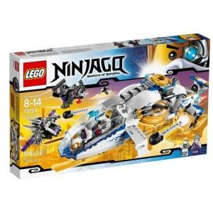 乐高忍者系列- 科幻武装直升机LEGO Ninjago - NinjaCopter (70724)