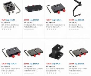 14款IDC PHOTO iDC System单反相机跟焦器等配件1.8折9.99元起特卖