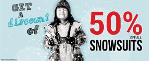 Clement网店儿童防寒服全场半价,上千款儿童服饰及各种儿童产品半价起特卖
