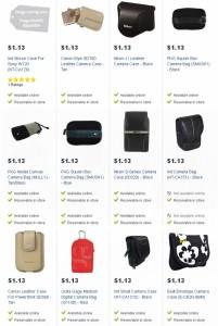13款相机套0.1折起1.13元清仓,Nikon J1微单皮质相机套原价89.95元,现价1.13元