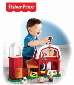 数十款Fisher-Price儿童玩具半价左右特卖