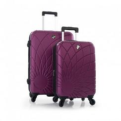 三款Heys两件套行李箱3折特卖,另再优惠50元(26寸及21寸套装,共8色可选)