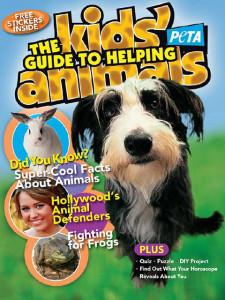 PETA Kids提供免费儿童贴纸、漫画书及杂志