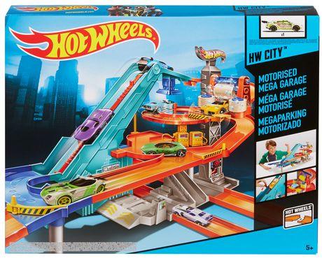 Hot Wheels Motorized Mega Garage Playset