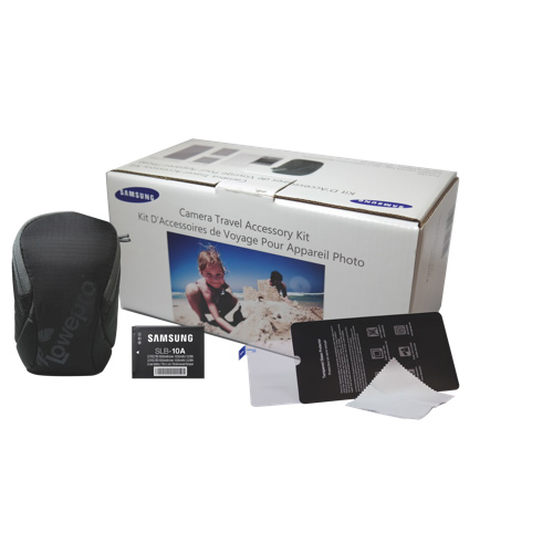 Samsung Camera Travel Accessory Kit,含微单防震相机包及Samsung SLB-10A锂电