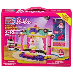 Mega Bloks - Barbie - Build 'n Play Ballet Studio芭比积木