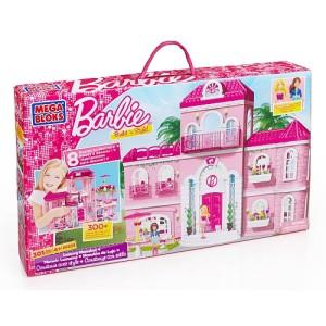 Mega Bloks - Barbie - Build 'n Style Luxury Mansion芭比积木