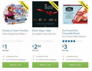 3款巧克力1-3元半价清仓