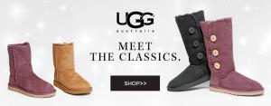 34款UGG雪靴6折起特卖,另再打9折