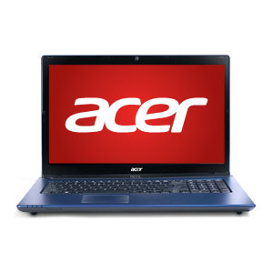 "翻新ACER ASPIRE AS7560-7657 17.3"" HD LAPTOP WITH AMD QUAD CORE A6-3420M, 6GB RAM, 500GB HD & WINDOWS 7 HOME"