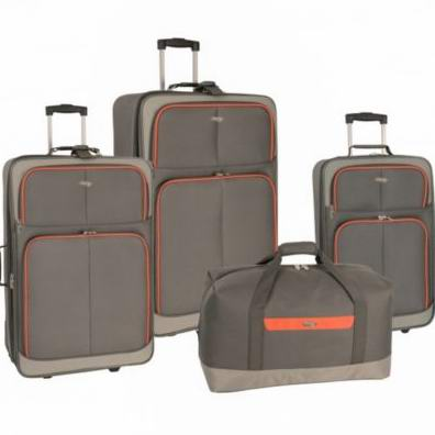 Travel Gear™ All Star 4 piece luggage set行李箱4件套