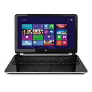 "HP PAVILION TOUCHSMART 15-N040CA 15.6"" NOTEBOOK WITH AMD A4-5000, 500GB HDD, 6GB RAM AND WINDOWS 8 - OPEN BOX"