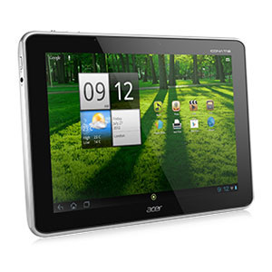 "翻新ACER ICONIA A700-10S32C 32GB 10.1"" TOUCHSCREEN TABLET WITH ANDROID 4.0 ICE CREAM SANDWICH - SILVER"