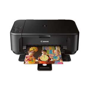 CANON PIXMA MG3520 PHOTO ALL-IN-ONE INKJET PRINTER WITH BUILT-IN WI-FI - BLACK - DAMAGED BOX