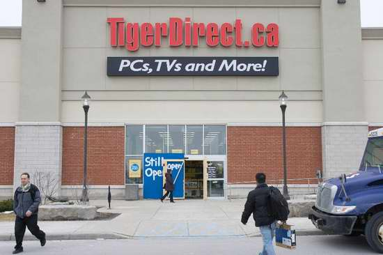 TigerDirect宣布结业,店内商品将格外享受8折起优惠