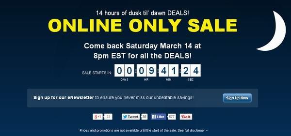 Best Buy 14小时特卖,东部时间今晚8时开卖!