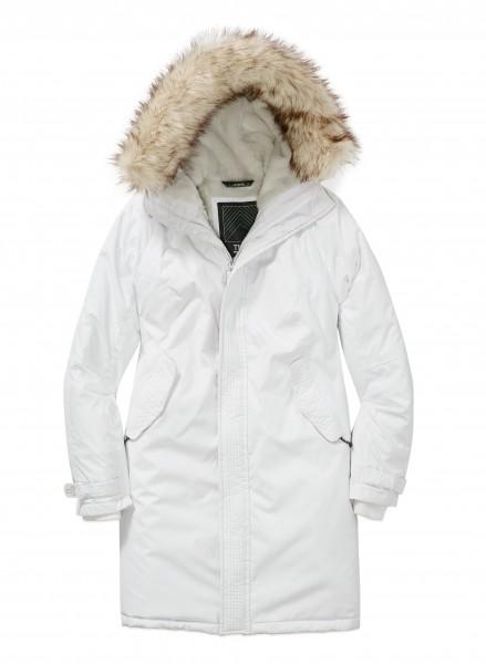 TNA avoriaz parka 白款M码防寒服半价137.5元特卖