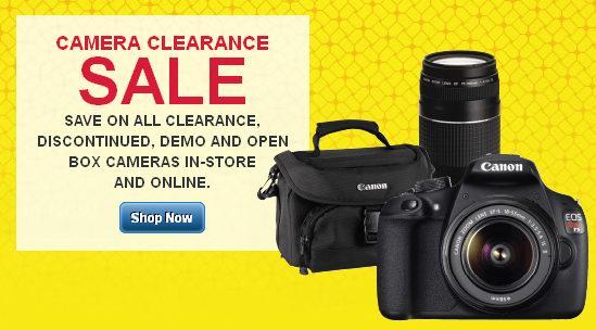Best Buy单反及数码相机最高降价250元特卖,店内展示、开箱相机大清仓