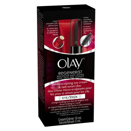 Olay Regenerist Advanced Anti-Aging Micro-Sculpting Eye Cream & Lash Serum Duo