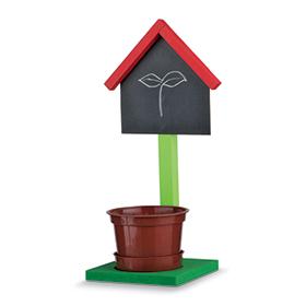 Home Depot4月11日免费儿童手工课 Build a Chalkboard Planter Stand