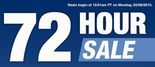 Newegg 3月9日-11日指定款笔记本、台式机、显示器、移动硬盘、耳机等电子产品72小时特卖,VISA结账满150元再优惠25元