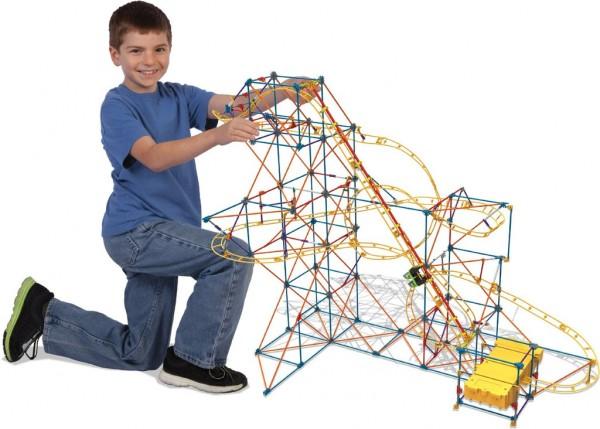 K'Nex® Hyperspeed Hangtime Roller Coaster Building SetK'NEX 过山车套装
