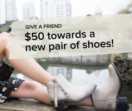 ShoeMe登记email送满百元优惠50元折扣券,再返款8%,全站包邮