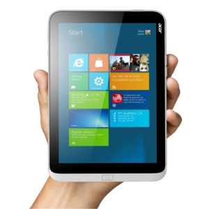 "翻新ACER ICONIA W3-810-1666 32GB 8.1"" MULTI-TOUCH TABLET WITH MICROSOFT OFFICE平板电脑"