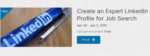 免费5周LinkedIn求职网络公开课