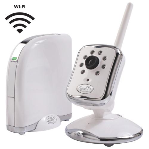 Summer Infant Peek Wi-Fi Only Video Baby Monitor无线WiFi婴儿监控器