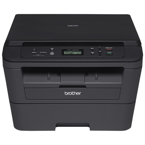 Brother Wireless All-In-One Laser Printer (DCP-L2520DW)无线一体式激光打印机