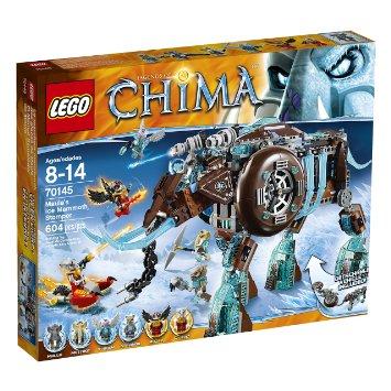 LEGO 象女王的寒冰机器猛犸象 Chima Maula's Ice Mammoth Stomper - 70145