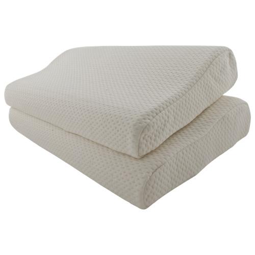 Simple Sleep Memory Foam Contoured Pillow 记忆睡眠枕(2 Pack)