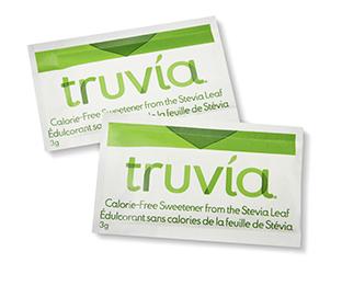 免费两袋 Truvía 天然甜味剂