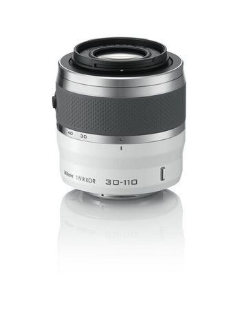 Nikon 1 30-110mm lens white尼康微单镜头