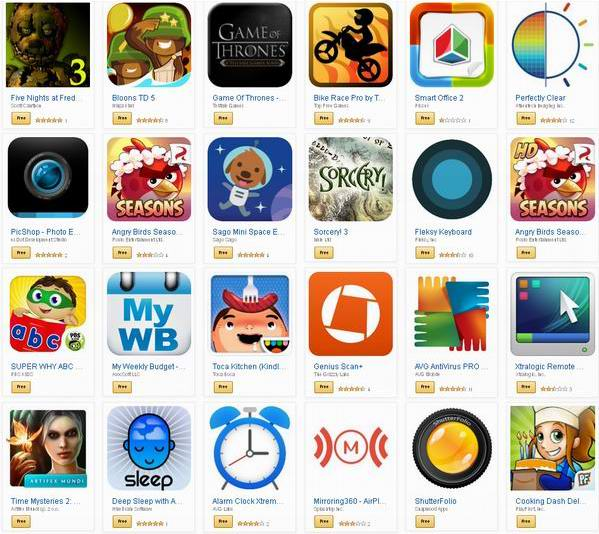 Amazon App Store 37款Android Apps应用软件/游戏免费安装