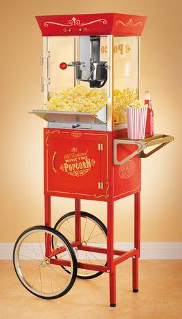 Nostalgia Popcorn Cart爆米花机