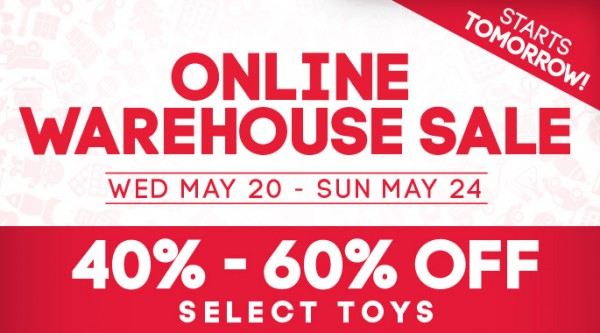 Mastermind Toys Warehouse Sale 2015玩具特卖会,5月20日-24日