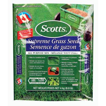 Scotts® Supreme Grass Seed草种4 x 4 kg