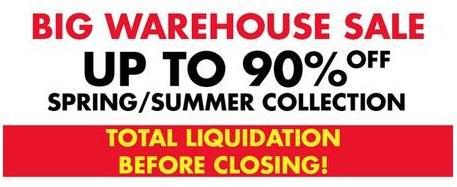Jacob Montreal Warehouse Sale春夏装特卖会1折起清仓,仅限5月29日