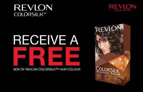 价值6.96元Revlon ColorSilk染发剂及价值2.27元Sunlight洗洁精购物券