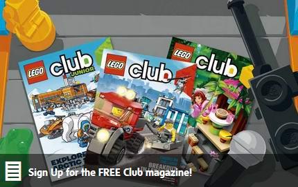 加入Lego Club免费订阅两年Lego杂志