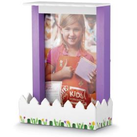 Home Depot 5月9日免费儿童手工课 Build a Picket Fence Frame