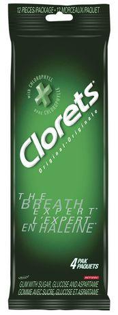 CLORETS Original口香糖